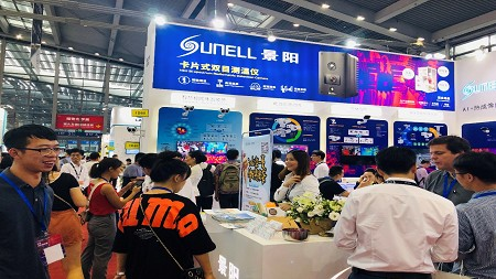 Sunell Showcased 'AI+Thermal' V2.0 at CIOE 2019 in Shenzhen