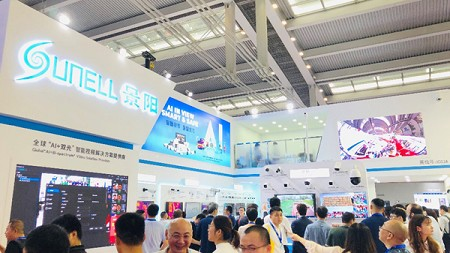 Sunell Showcased the AI 2.0 at CPSE 2019