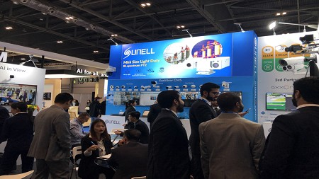 Sunell Showcased AI 2.0 Cameras at IFSEC 2019