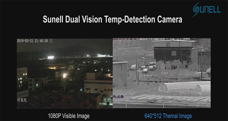 Sunell Thermal Application-Traffic Monitorng