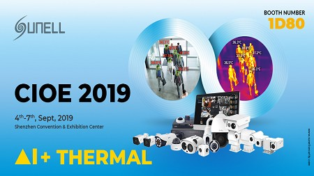 Sunell CIOE 2019 Exhibition