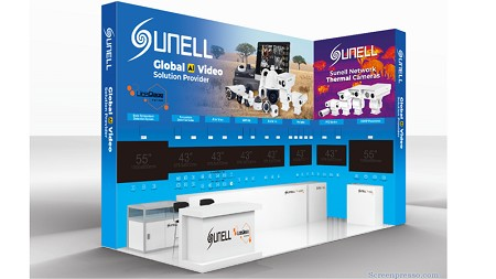 """AI+Thermal"", Sunell invites you to participate in the Securex 2019 Exhibition in South Africa"